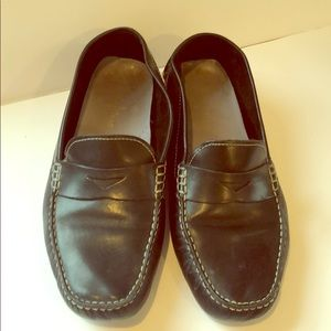Used Cole Haan black driving moccasins